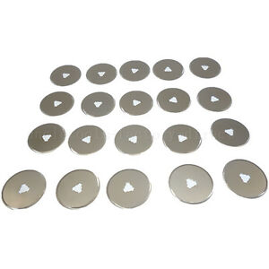 20pc-Rotary-Cutter-Blades-28mm-Cut-Circular-Blade-Patchwork-Fabric-Leather-Craft