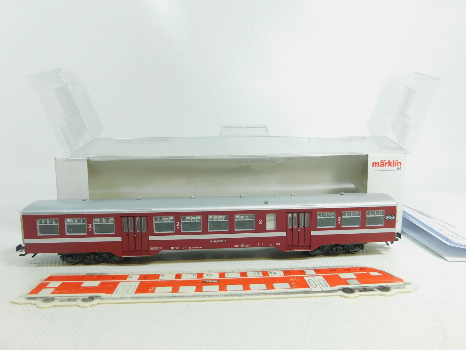Bn415-0, 5    h0/ac 43543-03 trasporti urbani carrello m2 SNCB NEM KK, Neuw + OVP