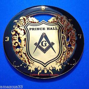 Prince Hall Mason Auto Freemasonry Car Emblem Heavy Duty Alloy Nice