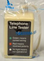Telephone Line Tester By Eagle Twd3599v-box - Ivory (1 Piece)