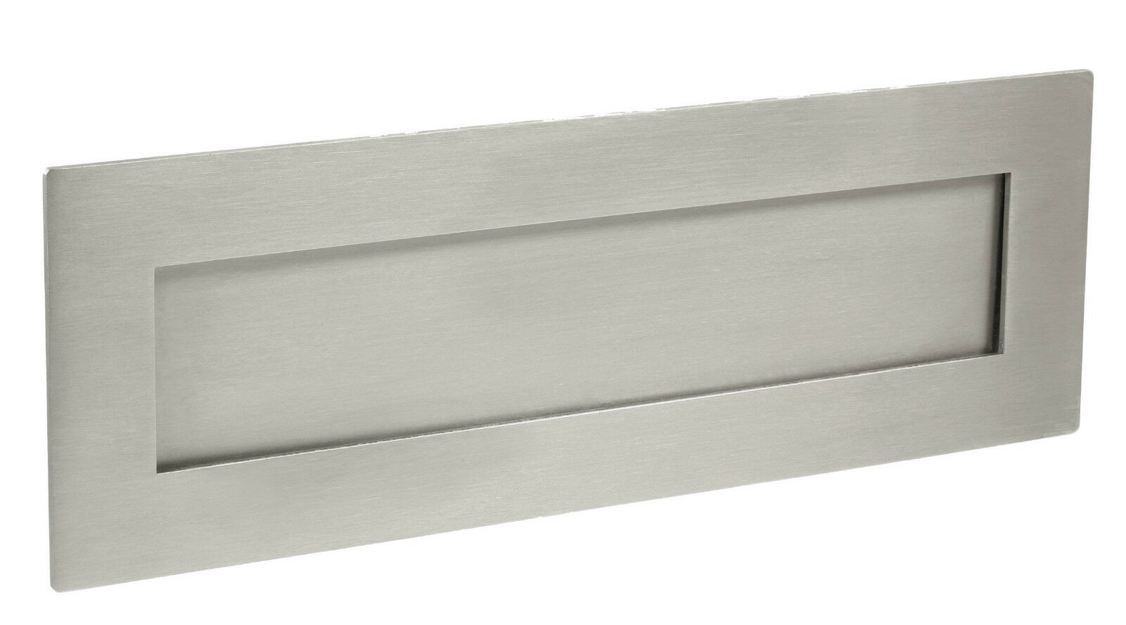 Stainless Steel Letter Plate   Letter Box - Marine Grade 316 SSS or PSS 12 x 4