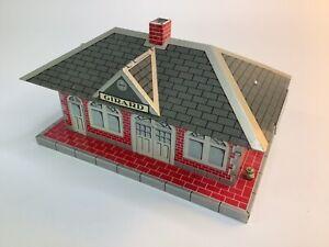 Girard Marx Tin Toys Train Station-great shape VINTAGE