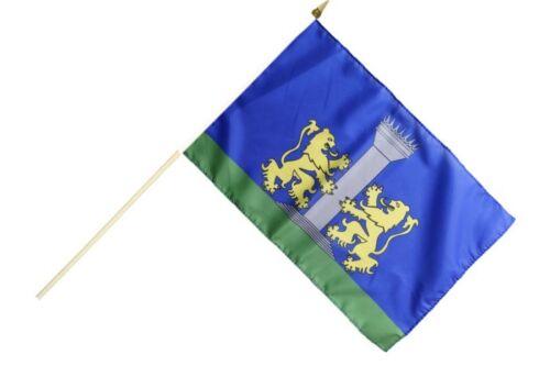 Frankreich Ajaccio Stockflagge Flaggen Fahnen Stockfahne 30x45cm