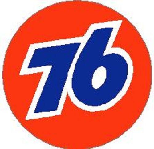 76 GASOLINE VINYL STICKER A508