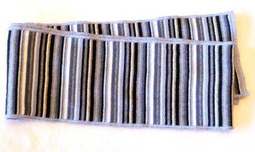 Baumwoll-Ringel-Schal für Kinder ohne Fransen Made in Germany 12 x 120 cm