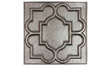 Ceilume Victorian Ceiling Tile 2' x 2' - Faux Pewter (Case of 10)