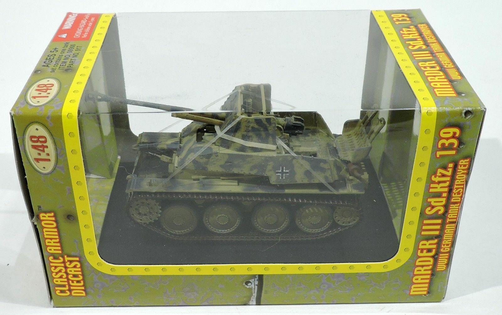 1 48 Tank allemand Marder III German Military char militaire WW2 No SOLIDO CORGI