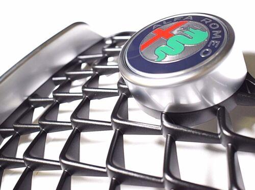 ALFA ROMEO GIULIA SUPER BASE CROMO SATINATO griglia radiatore /& Badge nuovo e originale