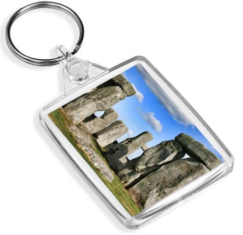 Stonehenge Porte-clés Wiltshire ENGLAND ANGLETERRE BRITISH Pagan Porte-clés Cadeau #12191