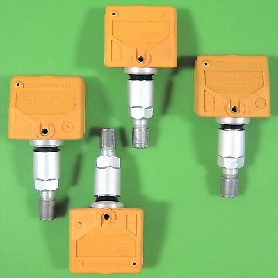 Complete Set of 4 Nissan Infiniti TPMS Tire Pressure Sensor /& Service Kits JA01B