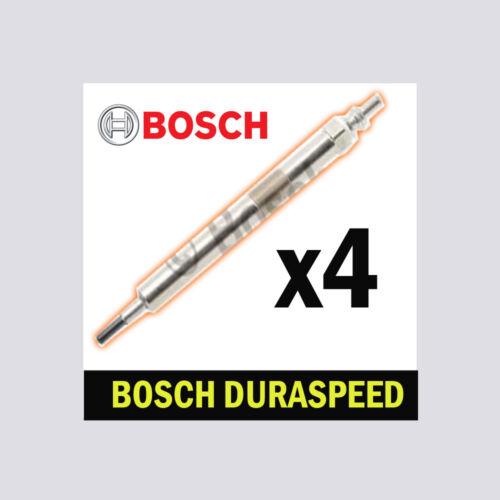 4x bosch bougies de préchauffage pour bmw F10 F18 2.0 518d 520d 525d B47 N47 xdrive