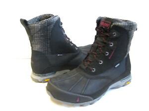 8a8e195f5e1 Details about AHNU SUGAR PEAK INSULATED WP WOMEN HIKING BOOTS BLACK US 7.5  /UK 5.5 /EU 38.5