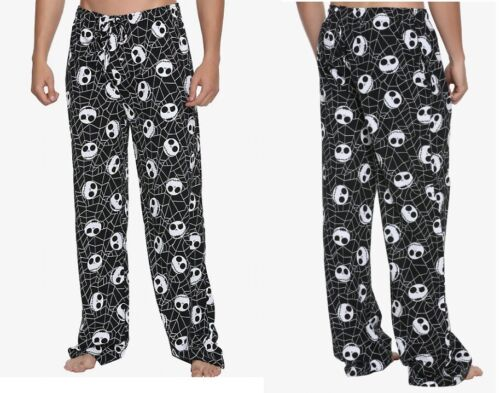 THE NIGHTMARE BEFORE CHRISTMAS Spiderweb /& Jack Skellington Pajama Pants Small