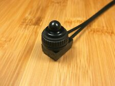 Bbt Waterproof Black Push Button Switch