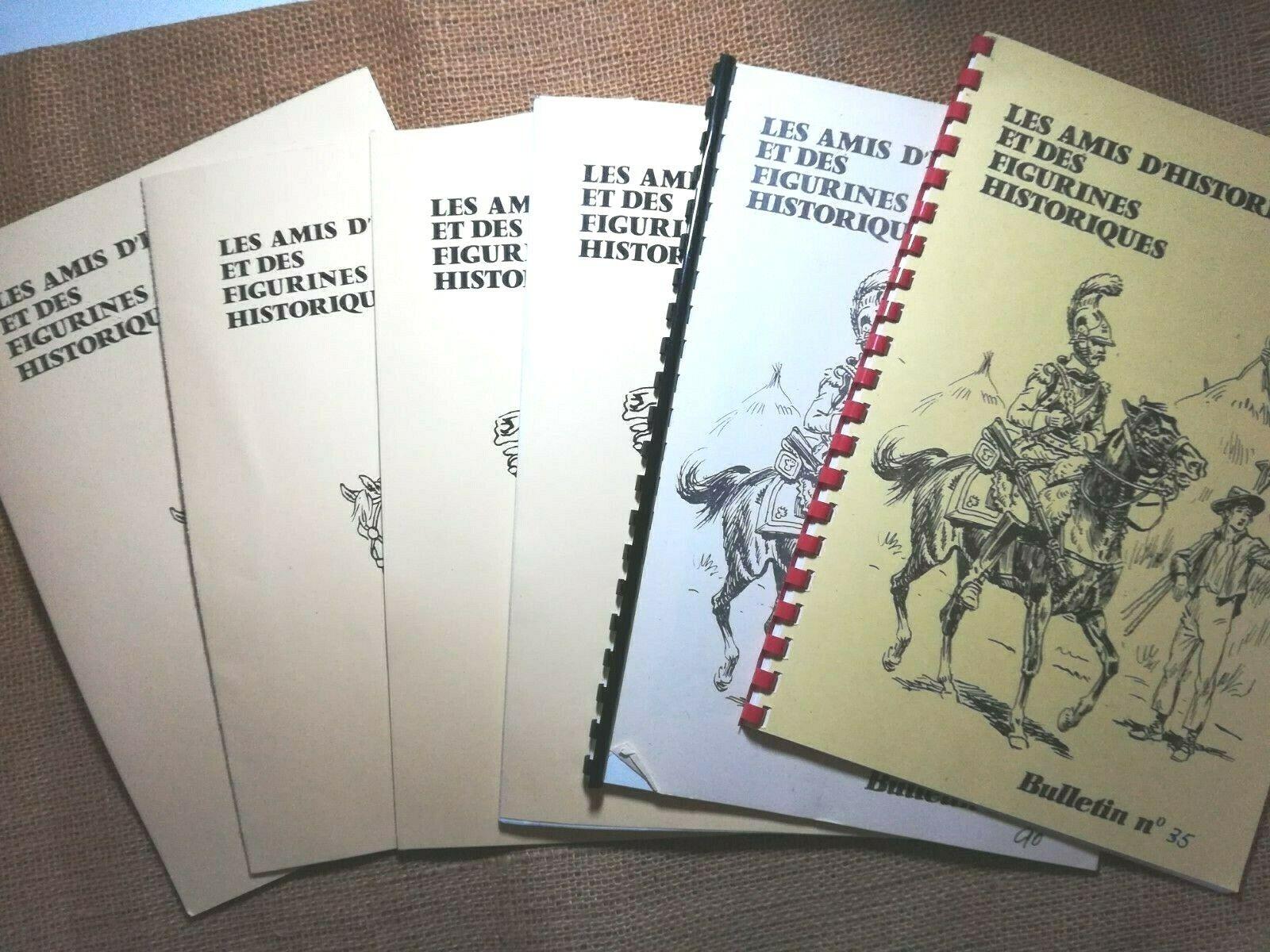 EMPIRE Lot 6 bulletins  Les Amis d'Historex et des Figurines Historiques - 6377