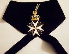 German Knight Saint John Order Cross Medieval Crusades Holy Land Medal Teutonic