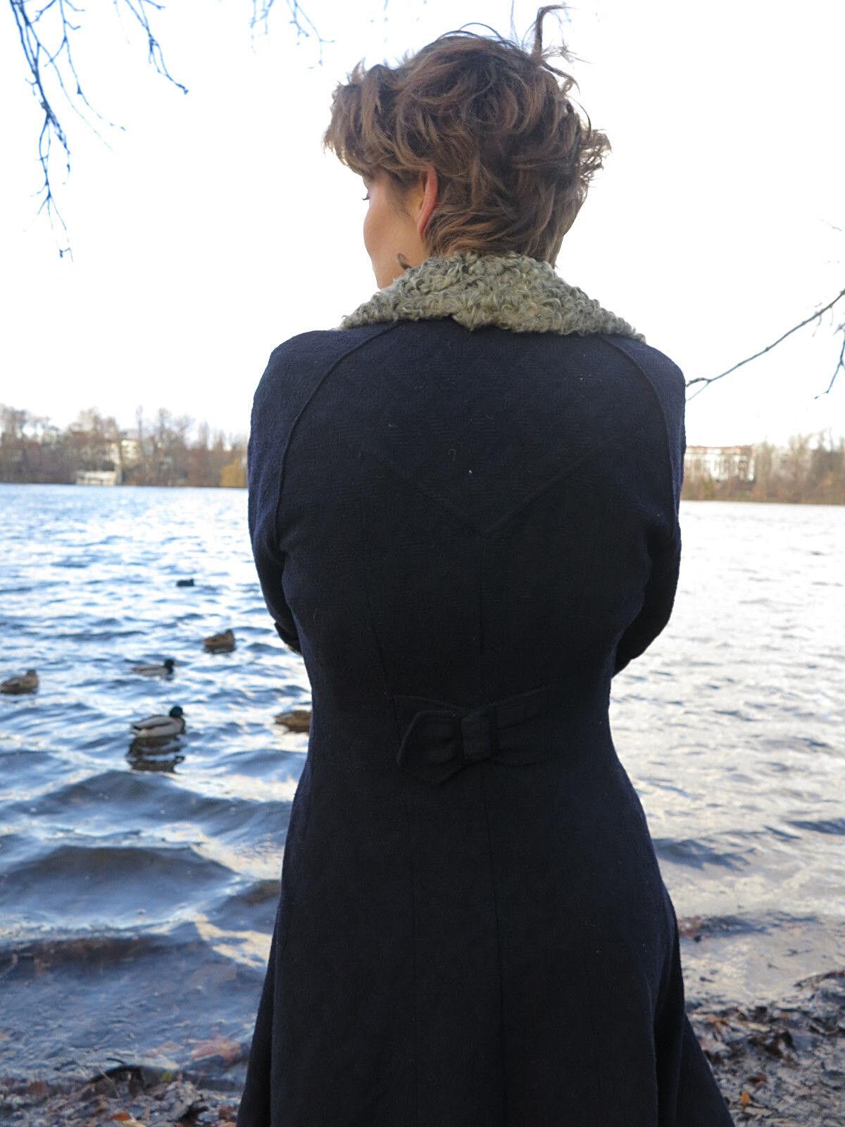 30er antik Damen Mantel blau Pelz TRUE VINTAGE VINTAGE VINTAGE 30s handcrafted coat with fur | Vogue  | Sale Online Shop  | Lassen Sie unsere Produkte in die Welt gehen  | Online-Shop  | eine große Vielfalt  bbfca4