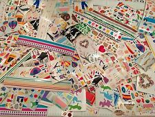Huge lot 275 Sheets Mrs. Grossman's SCRAPBOOKING STICKERS most retired RARE