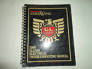 1985 honda goldwing gl1200 electrical troubleshooting wiring diagram 1985 Ford Mustang Wiring Diagram image is loading 1985 honda goldwing gl1200 electrical troubleshooting wiring diagram