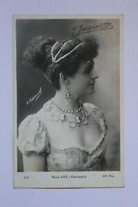 Postkarte-Foto-Celebrity-Amy-Maud