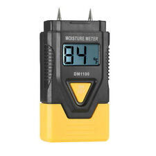 Wood Moisture Meter Tester Digital Lcd Fit Firewood Humidity Measuring Device
