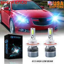 For Chevy Cruze 2011 2012 2016 2pc 8000k Led Headlight Bulbs Highamplow Beam Fits 2012 Chevrolet Cruze Lt