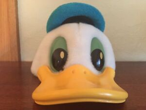 Image is loading DISNEY-DISNEYLAND-VINTAGE-3D-DONALD-DUCK-SAILOR-PLUSH- cb5461c7c95e