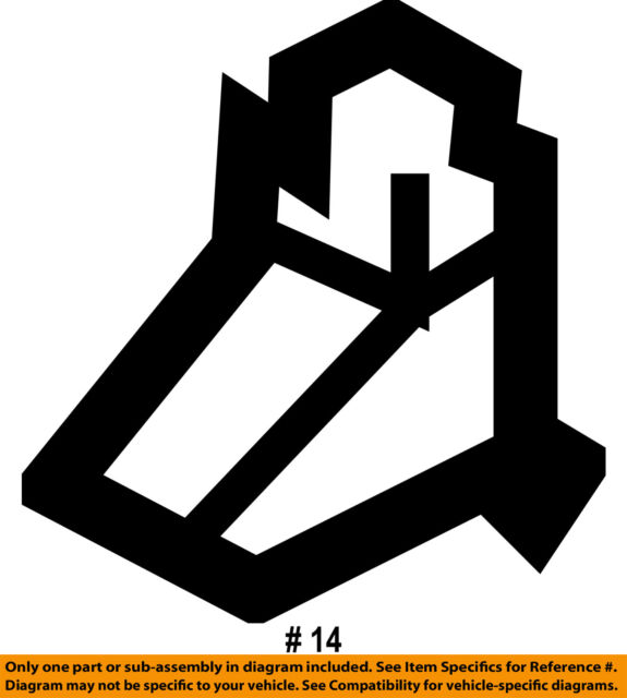 SUBARU OEM 03-08 Forester Hood-Stay Rod Clamp 57255SA000