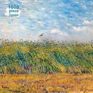 adult jigsaw vincent van gogh wheatfield with a lark 1000 piece jigsaw puzzle 1000 piece jigsaws