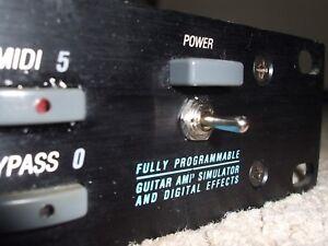 Amical Alesis Quadraverb Gt Avec 270 Nommé Presets Upgrade Rom Installé Sous Copyright-afficher Le Titre D'origine Emballage Fort