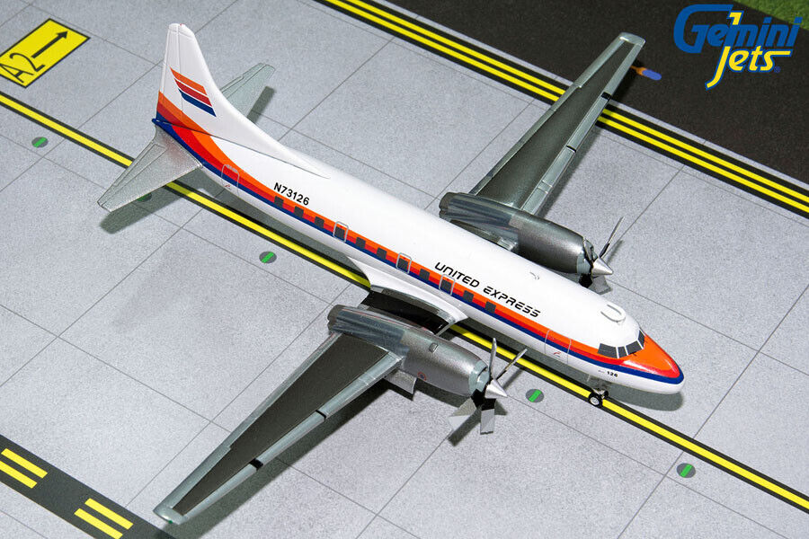 Gemini Jets 1 200 United Express Convair 580 N73126 G2UAL318