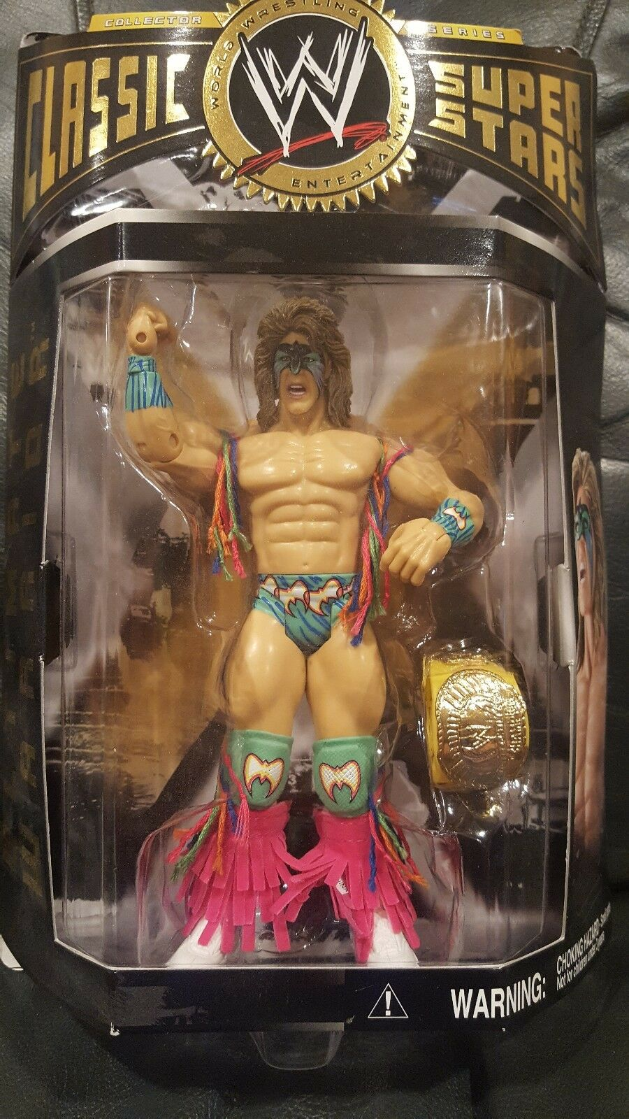 WWE Classic Superstar Series Ultimate Warrior Figure