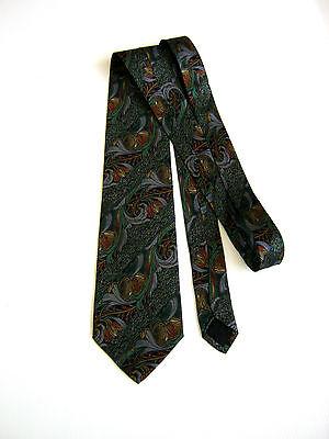 Vintage Nazareno Gabrielli Silk Necktie Made In Italy