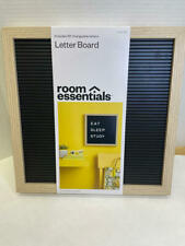 Room Essentials 12x 12 Letterboard Includes 181 Changeable Letters