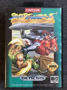 Details About Street Fighter Ii Special Champion Edition Sega Genesis 1993