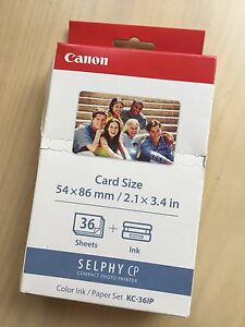 NEW-CANON-KC-36IP-Color-Ink-Paper-Set
