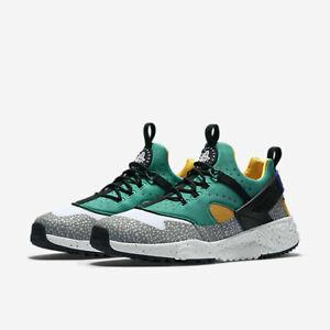 Realista verano traicionar  Nike MEN'S Air Huarache Utility Premium Emerald Green SAFARI SIZE 10.5  BRAND NEW   eBay