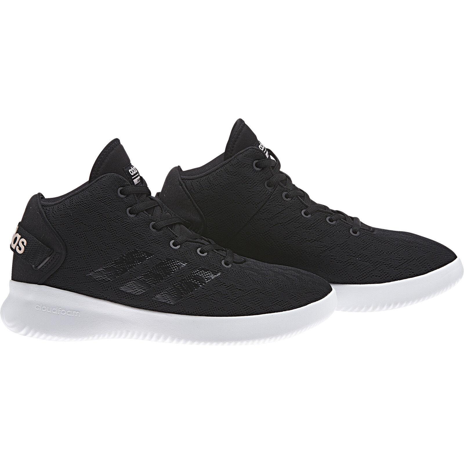 Adidas neo Damen Turnschuh CF Refresh Mid W schwarz (BC0011) Stilvolle und attraktive Tasche