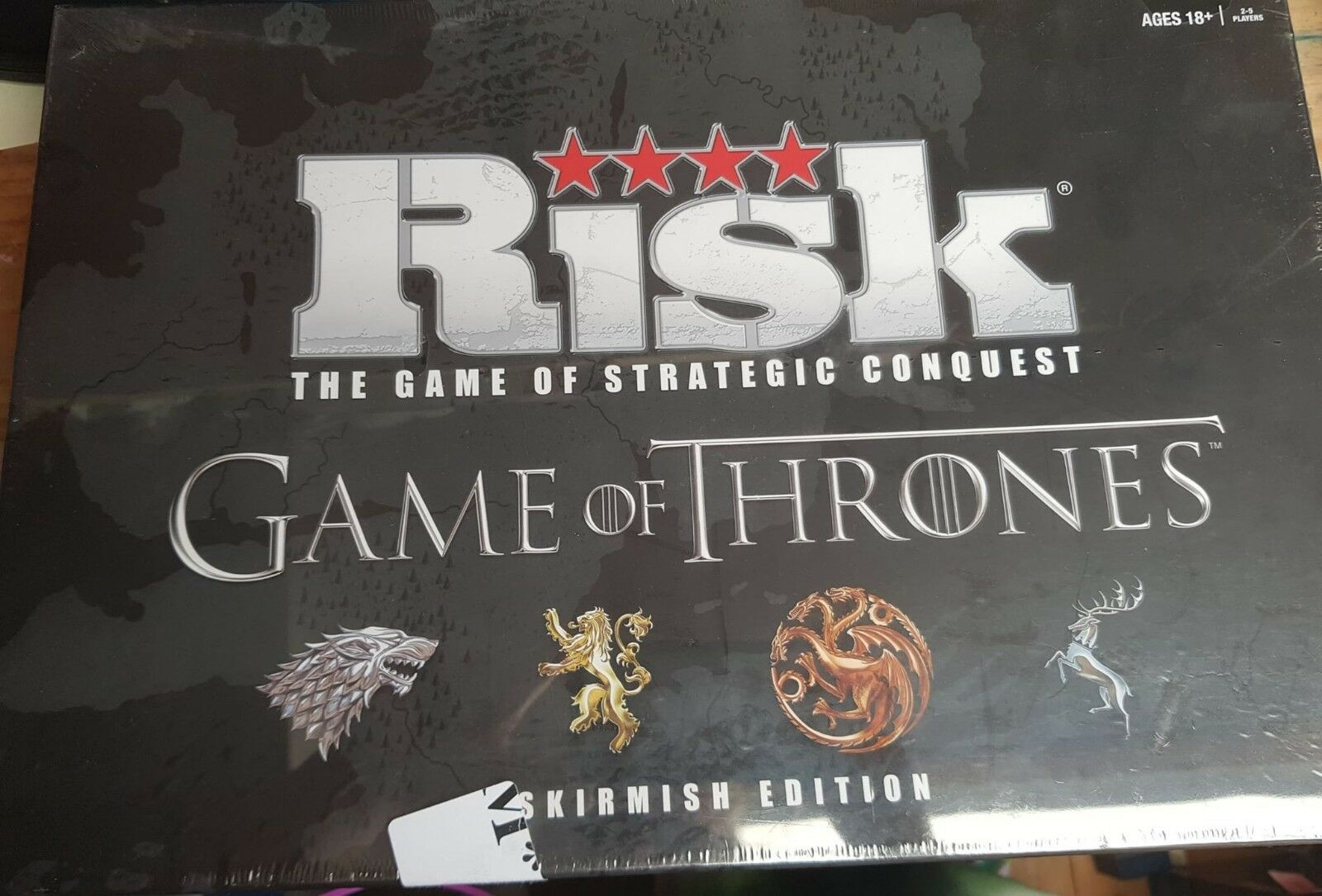 Game of Thrones Risk Board Game - The Skirmish Edition