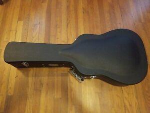 Eastman Dreadnought Guitar Case Avec Clé étui Noir Contreplaqué D-18 D-28 D-35-afficher Le Titre D'origine Marchandises De Proximité