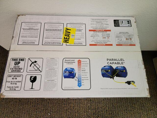 Brand New Westinghouse WH2200iXLT Super Quiet Portable Inverter Generator 1800