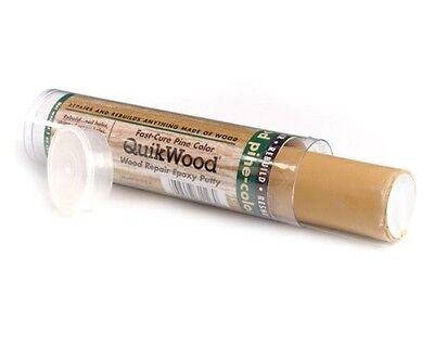 "Kwikwood 3.5/"" Wood Repair Epoxy Putty Box of 12 QuickWood Pine 1 oz Pinball"