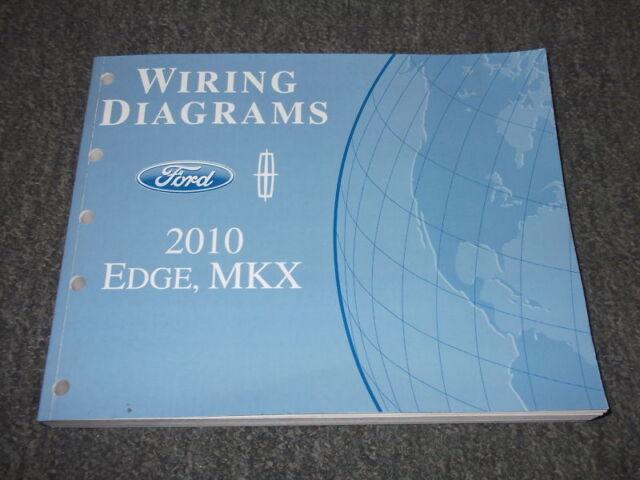2010 Ford Edge Lincoln Mkx Electrical Wiring Diagrams Diagram Manual Ewd Oem