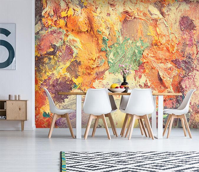 3D Schöne Bunte Pigmente 239 Tapete Wandgemälde Tapete Tapeten Familie Kinde DE