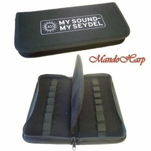 Seydel-Harmonica-Case-910000-Softcase-for-14-Harmonicas-NEW