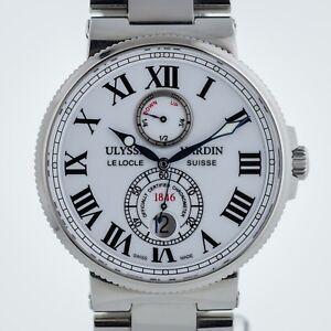 c930e03fc6eef Image is loading Ulysse-Nardin-Maxi-Marine-Chronometer-Ref-263-67-