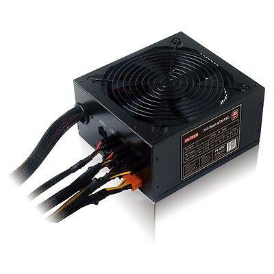PC ATX leises Power Computer Netzteil 750W Watt 135 mm Lüfter Kabelmanagement