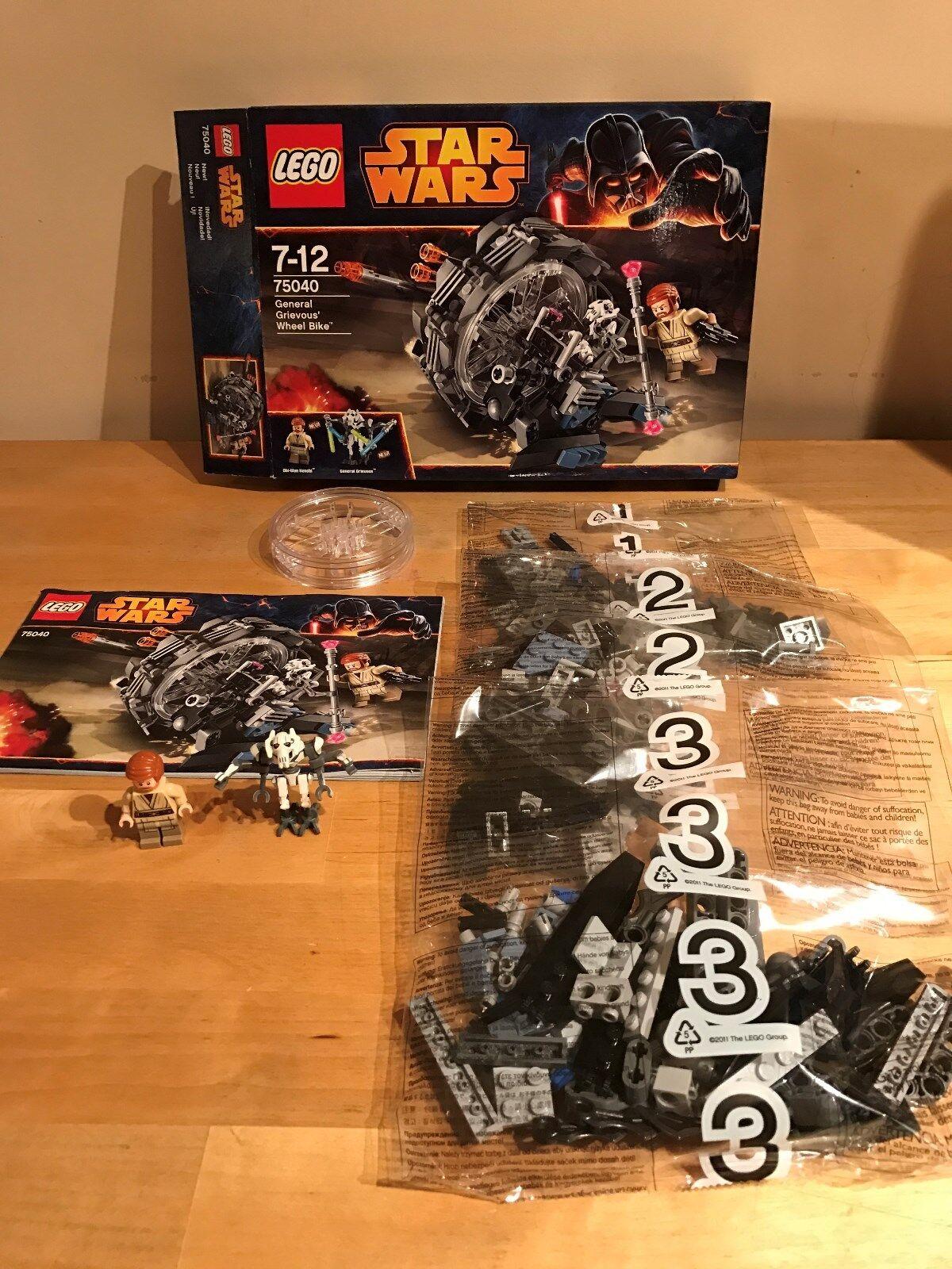 Lego Star Wars 75040 75040 75040 - General Grievous' Wheel Bike (Boxed) e824fd