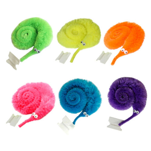 2Pcs funny magic  worm  fuzzy and soft cute toy   B AS
