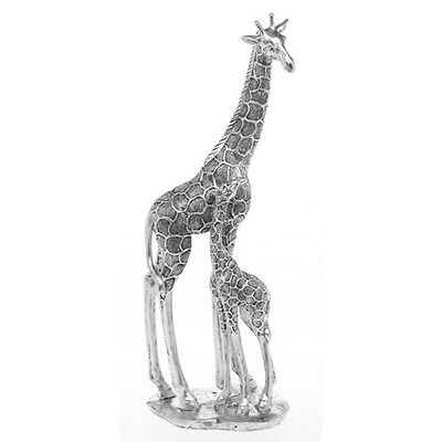 Extra Large Decorative Giraffe Mum & Baby By Shudehill Giftware H47cm
